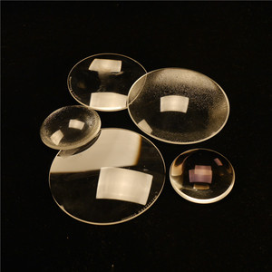 Customized Optical Glass Led Lighting Accessories Clear Glass Lens