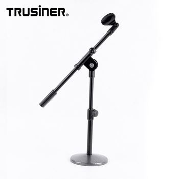 New Style Round Base Microphone Stand Grip Mic