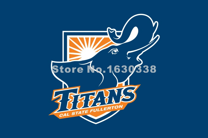Cal State Fullerton Titans Flag 3ft X 5ft Polyester Ncaa