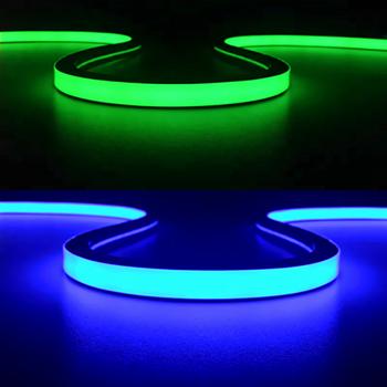 Led Neon Rope Light Top View Flex Dc 24v 12v Ac240v 220v For Indoor