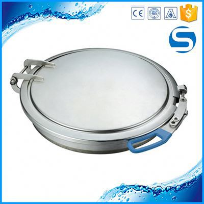 Welding Sanitary Square Sewer Frp Round Manhole Cover