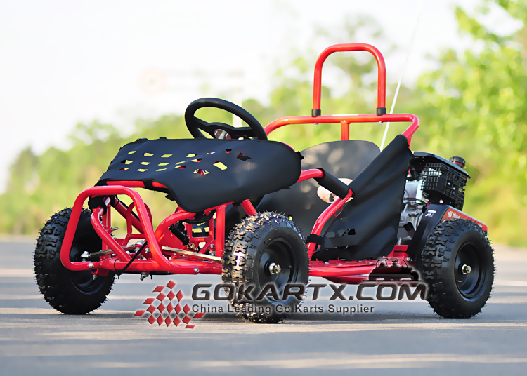 80cc 4 Stroke Gas Powered Kids Go Kart(Cocokart)/leather kart racing jackets