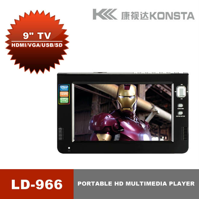 9'' portable multimedia player mp3 mp4 game with HD Screen LD-966