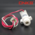 CNKB IFM-1electromagnetic RO machine impeller flow meter 1/4'' quick connector plastic body turbine flowmeter manufacturer