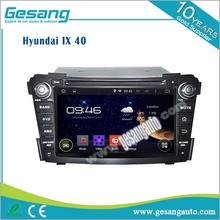 android 6.0 2 din car dvd player for Hyundai I40 with 1080P video bluetooth phnone book