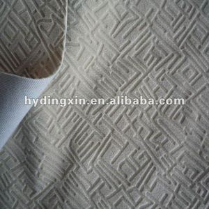 Embossed Car Seat/ Bus Ornament Fabric