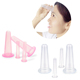 Amazon hot 4 pieces Eye Face Vacuum Massage cupping cup Kit small xl therapy silicone facial cupping set
