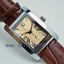 Wholesale China Supplier Vintage Style Rectangular Men Watch