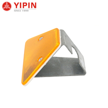 Traffic Road Divider With Rectangle Trapezoid reflective Delineator