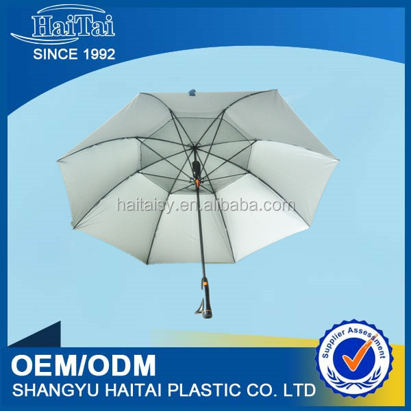 manufacture high quality promotional summer blast sun umbrella with cool fan