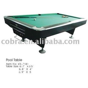 Imperial 7 Foot Slate Bed Pool U0026 Snooker Table   Buy Slate Billiard  Table,Billiard Snooker Table,Green Wool Billiard Table Product On  Alibaba.com