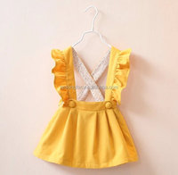 Persnickety Summer Girls Sleeveless Dresses Boutique Kids Pearl Dresses with Ruffles
