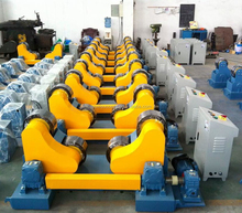 Automatic pipe welding rollers welding rotation machine