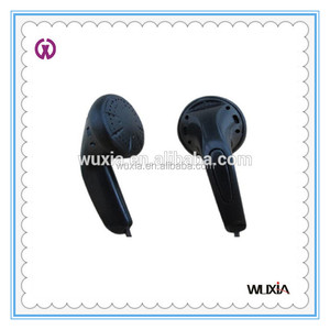 Very Cheap Disposable Airline Headphone Earphone for Hospital Bus