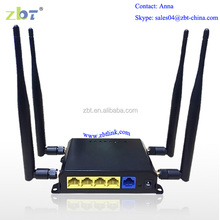 4g Lte modem wifi Router Support 15.05 version Openwrt firmware with 4 LAN ports