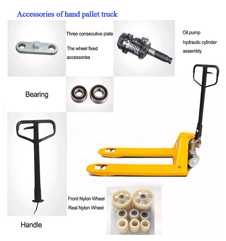 Dali forklift 5T Hand Pallet Truck Made in China