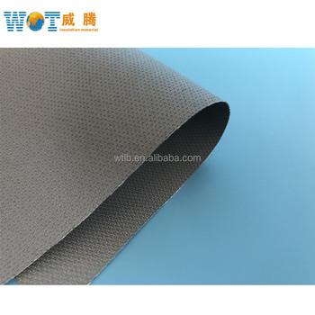 938716411b46 Flame Retardant Pu silicon Gel Coating Fiberglass Fabric - Buy ...