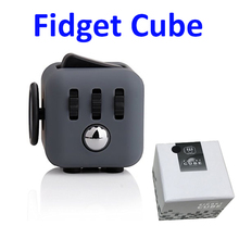 2017 New Arrival Relieves Stress Cube and Anxiety Fidget Toy Box