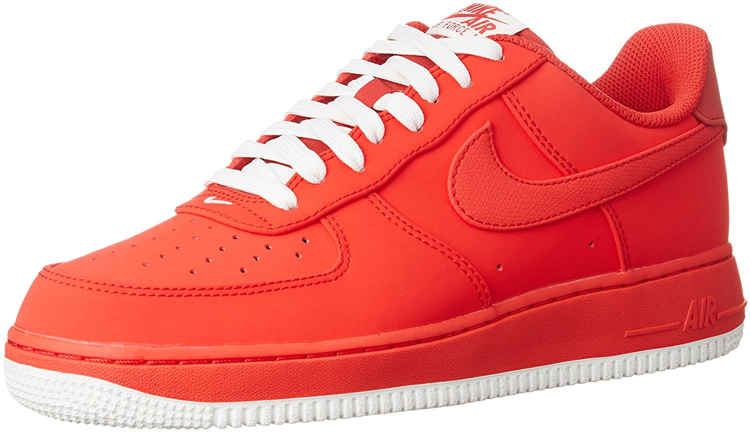 separation shoes 1b898 71e1b Get Quotations · Nike Mens Air Force 1 Low Leather Basketball Shoes