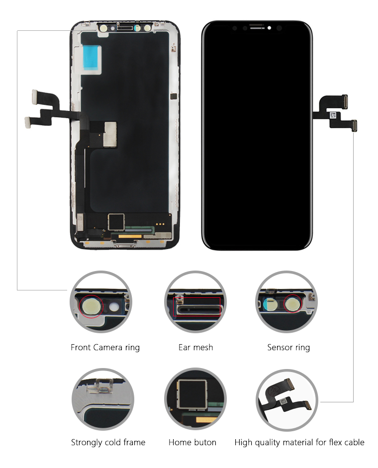 Full Original Oem Lcd Display Touch Screen For Iphone Xr Mobile Phone Lcd Panel Assembly