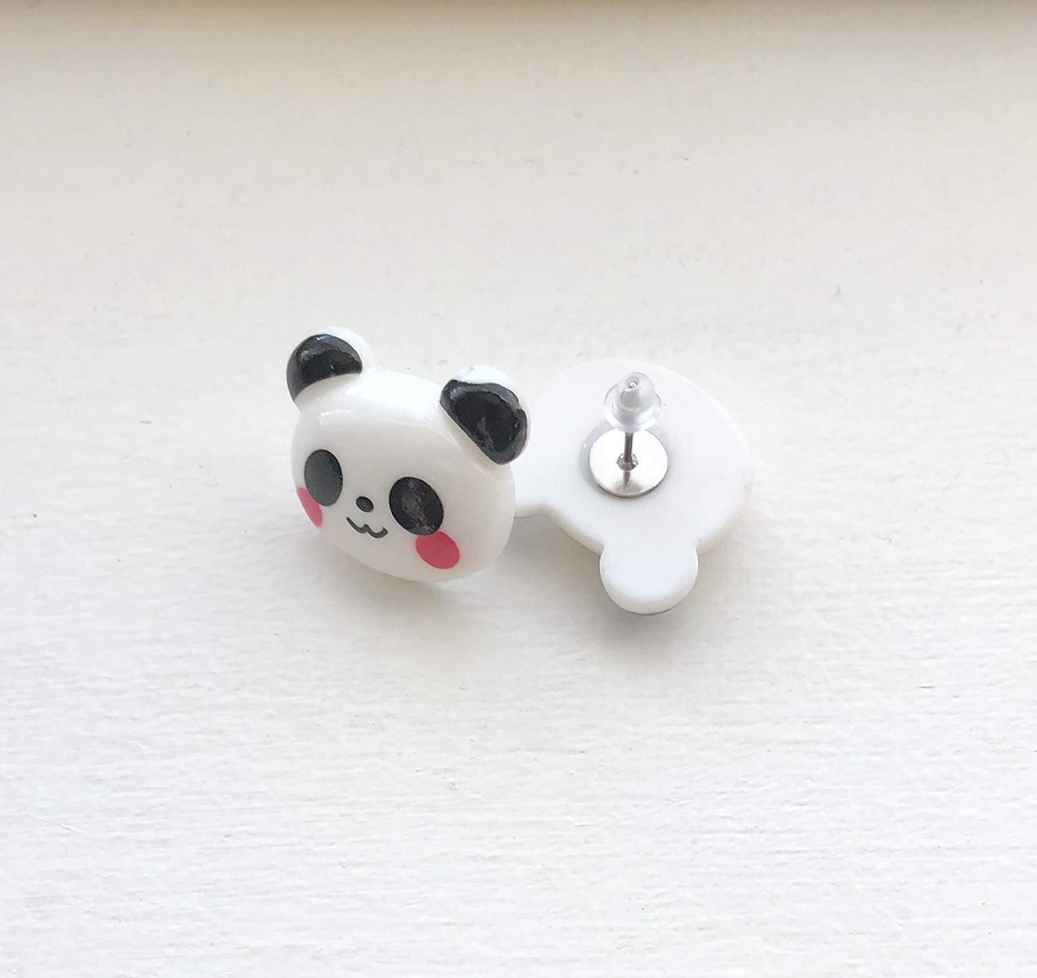 Get Quotations Kawaii Panda Bear Earrings Black And White Gift For Her