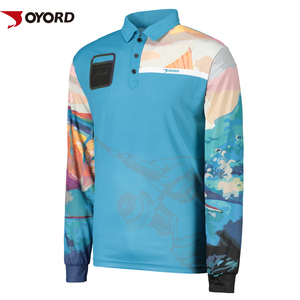 Custom-made Anti-UV Long Sleeve Fishing Shirts