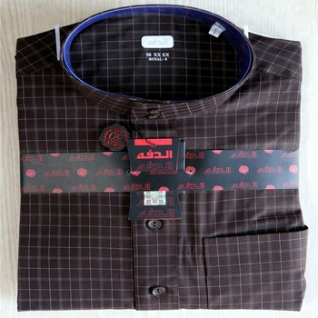 Top Quality Muslim Mens Basic Thobe Arab Daffah Thobe With Chest Pocket with factory price