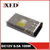 network switching Power Supply AC to DC power source DC12V 8.5A 100W
