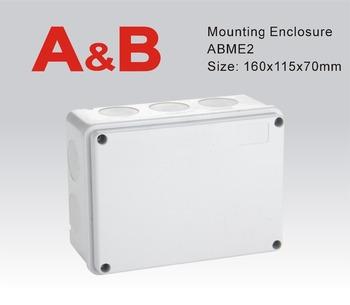 Abs Plastic Enclosure Weatherproof Junction Box White