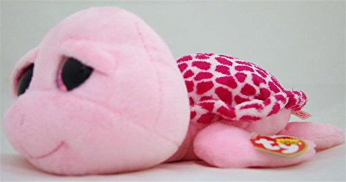 dd46a9af32e New TY Beanie Boos Cute SHELLBY the Pink Turtle (Glitter Eyes) (Regular  Size - 6 inch) Plush Toys 6   15cm Ty Plush Animals Big Eyes Eyed Stuffed  Animal ...