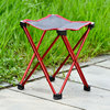 light weight stable aluminum mini fishing camping stool with carry bag