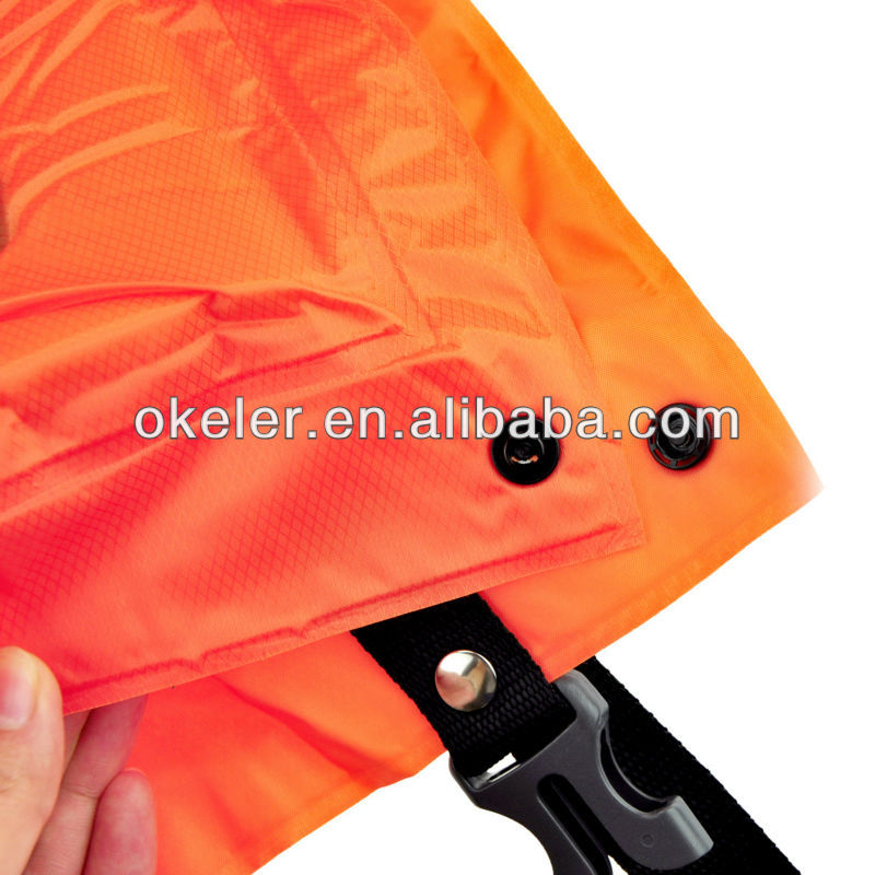 Orange Outdoor Camping Automatic Self Inflating Adult Sleeping Pad Mat