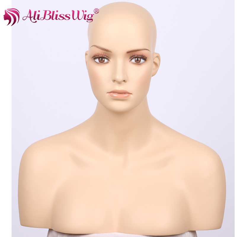 Beautiful Wholesale Fashion Half Body Female Fiberglass White Mannequin Head with Shoulders for White Women