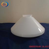 Vintage White Milk Glass oil Lamp Shade