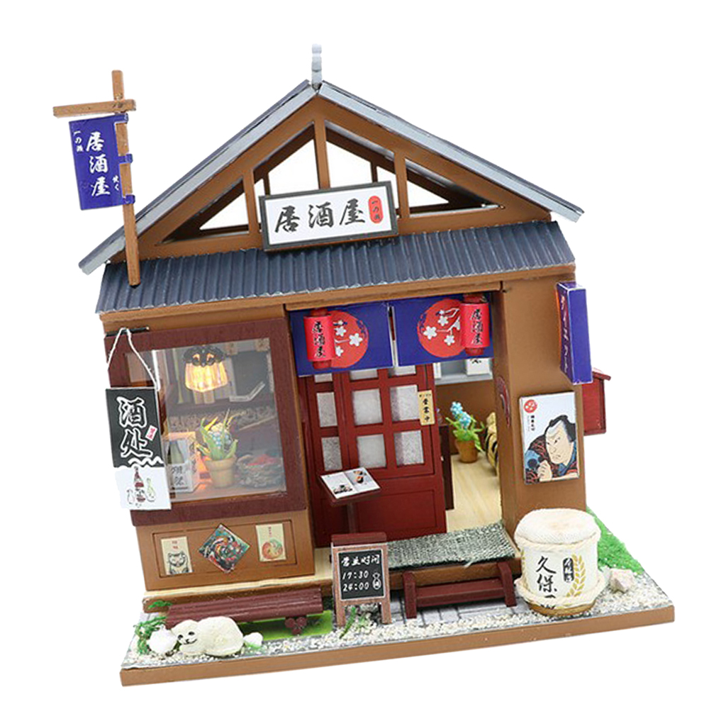 TRADITIONAL BIRD CAGE WITH BIRD WHITE FINISH 1:12 SCALE DOLLHOUSE MINIATURES
