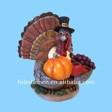 resin relief sculpture for thanksgiving decoration