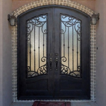 Used Wrought Iron Safety Door Gate Design For Home