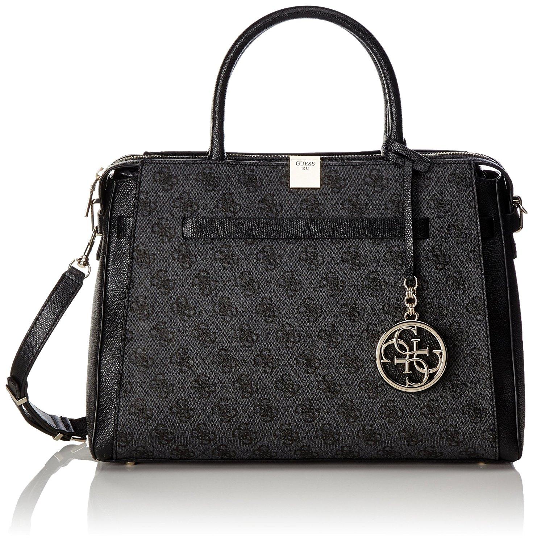 Get Quotations · Guess Women s Christy Top Zip Large Girlfriend Satchel  Handbag 358ebf04348d6