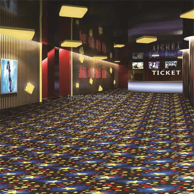 Colorful pattern axminster wool carpet supplier in China