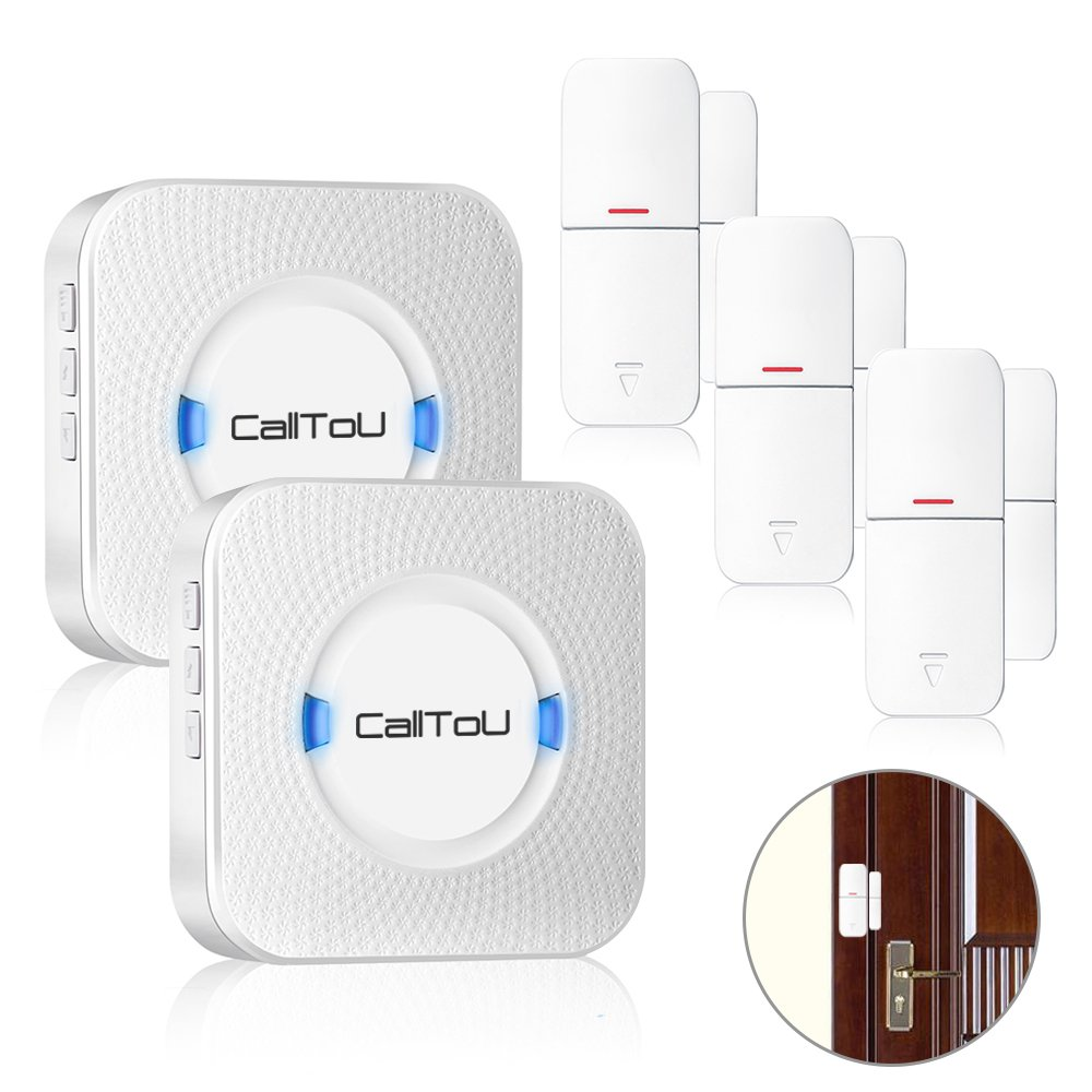 Cheap Retail Store Door Chime Find Deals On How To Add A Second Doorbell Get Quotations Calltou Wireless Open Sensor Entrance Entry Alert For Home Business Shop