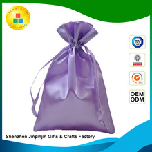 multifunctional embossed fancy birthday christmas satin gift bags in bulk