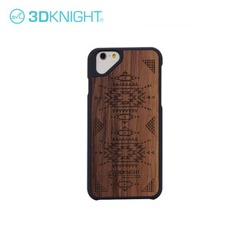 Amazom Laser Engraving Custom Design Blank Wood Phone Case For Iphone 6 7 8