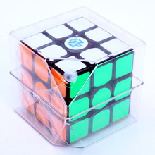 Hot sale gan 356 air sm 3x3x3 speed magic square magnetic 3x3 cube in puzzle game