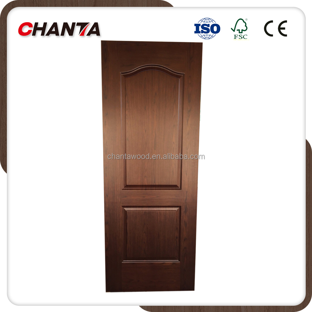 3mm melamine HDF door skin for interior doors natural veneer door skin