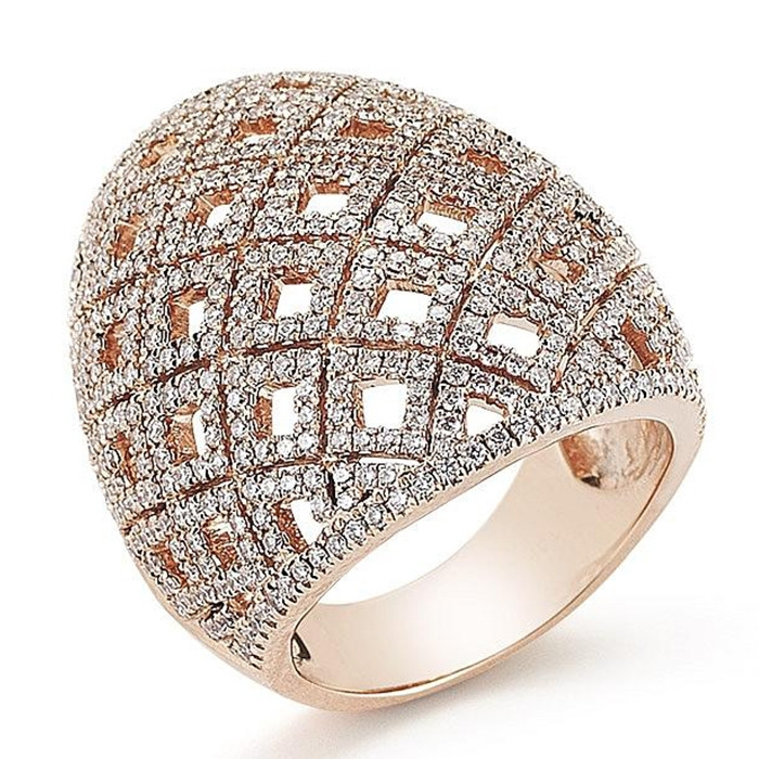 Real gold plated jewelry alli express cz rings jewellery fashion