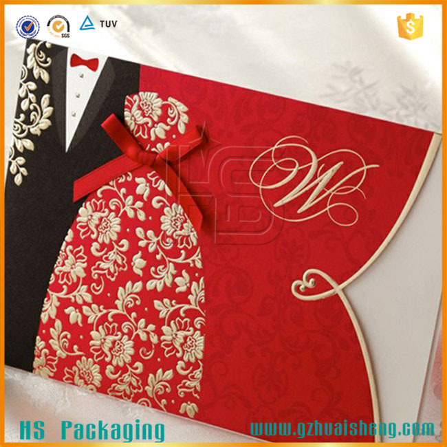 Fashionable Indian Hindu Wedding Invitation Cards2015 Latest Card Design
