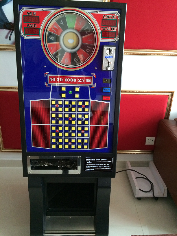 Bergmann Roulette Machine