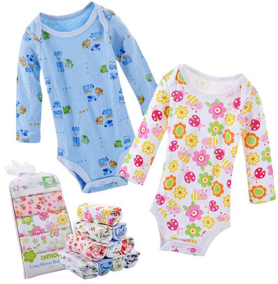 ae30839d64c1f Buy BODYSUIT Infant Clothes 5pcs lot Newborn Baby Carters BABY Boy ...