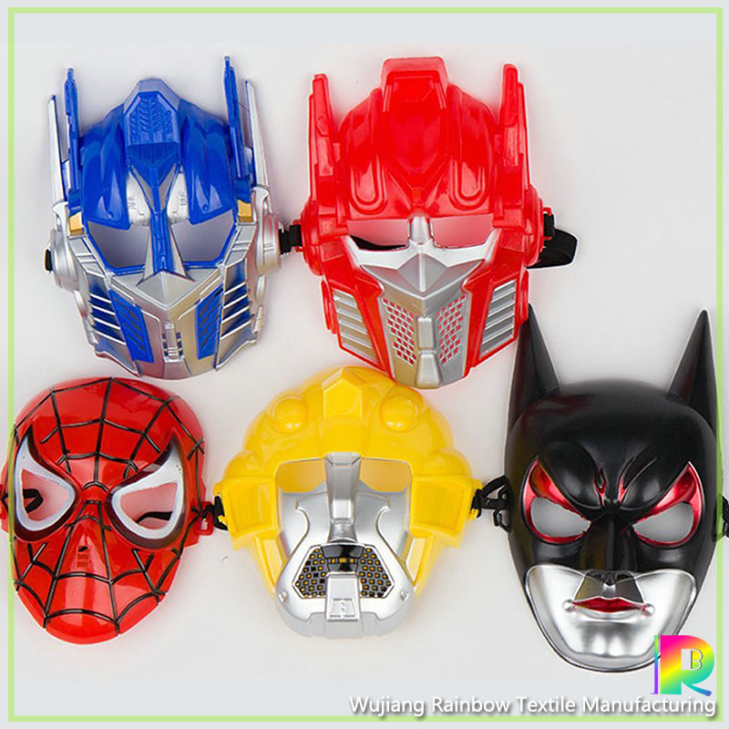 Cheap cartoon plastic face mask for kids party toy cosplay plain optimus prime plastic mask