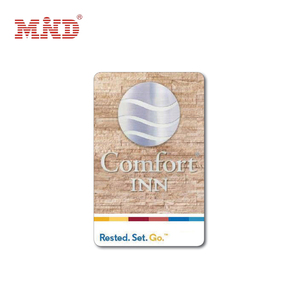 13.56Mhz printed hotel key card maker for hotel lock